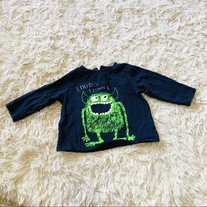 KOALABABY • Monster Tee Shirt • Blue + Green